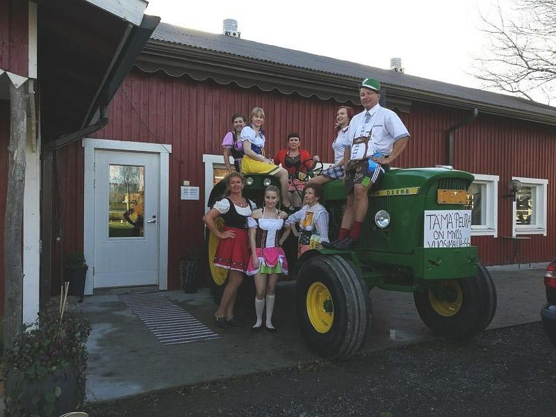 paijan maatilamajoitus teemalliset juhlat